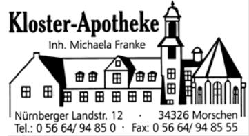 Kloster Apotheke Morschen